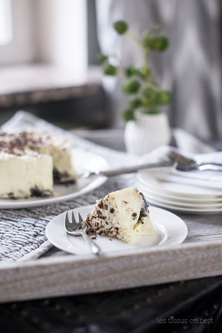 LES TISSUS COLBERT, Oreo Cheesecake, Cream & Cheese